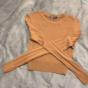 Cropped American Apparel Long sleeve shirt